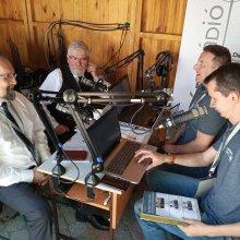 Csomós József és Ábrám Tibor rádióinterjú