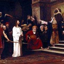 Munkácsy Mihály: Krisztus Pilátus
